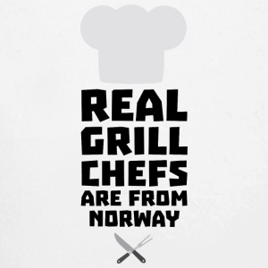 Real Grill Chefs are from Norway S8cv1 Baby Bodysuits - Longlseeve Baby Bodysuit