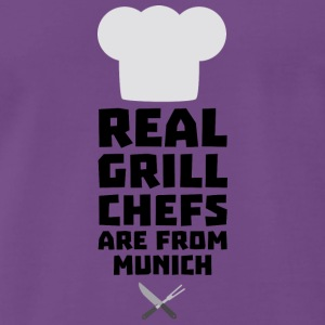 Real Grill Chefs are from Munich S955j T-Shirts - Men's Premium T-Shirt