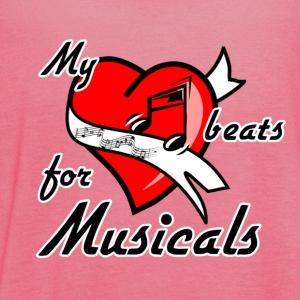 My heart beats for Musicals - Frauen Tank Top von Bella
