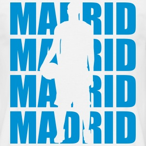 Madrid Basketball T-Shirts - Männer T-Shirt