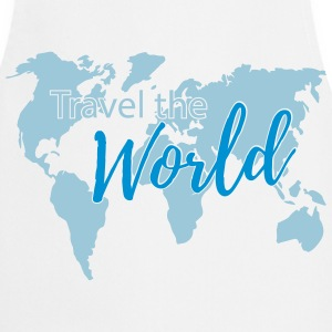 Travel the World 2c  Aprons - Cooking Apron