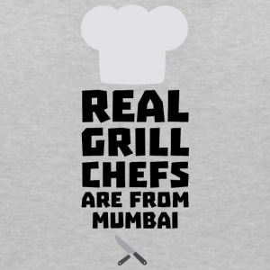 Real Grill Chefs are from Mumbai S8y6w T-Shirts - Women's V-Neck T-Shirt