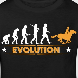 Riding evolution - orange/white Shirts - Kids' Organic T-shirt