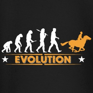 Reiten Evolution - orange/weiss Baby Langarmshirts - Baby Langarmshirt