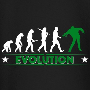 Zombie Evolution - gruen/weiss Baby Long Sleeve Shirts - Baby Long Sleeve T-Shirt