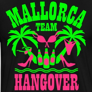 Mallorca Team Hangover Palme Beer 2017 Party Shirt - Männer Premium T-Shirt