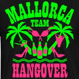 12 Mallorca Team Hangover Palmen Beer Sex Party T- - Männer Premium T-Shirt