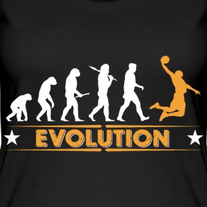 Basketball Evolution - orange/weiss Tops - Camiseta de tirantes orgánica mujer