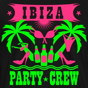 14 Ibiza Party Crew Bier Beer Sex Drinking Team T- - Männer Premium T-Shirt