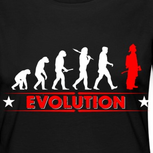 Fire evolution - red/white Long Sleeve Shirts - Women's Premium Longsleeve Shirt