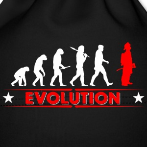 Fire evolution - red/white Baby Cap - Baby Cap
