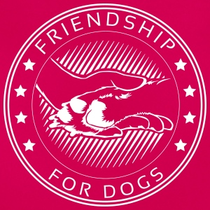 Friendship-for-dogs – Frauen T-Shirt - Frauen T-Shirt