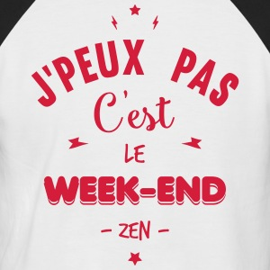 c'est le week-end Tee shirts - T-shirt baseball manches courtes Homme