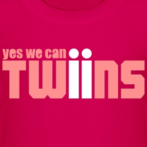 yes we can Twins shirt rosa - Kinder Premium T-Shirt