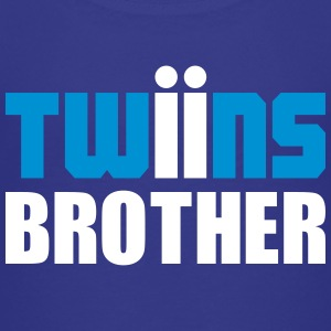 Twins brother shirt blau - Kinder Premium T-Shirt