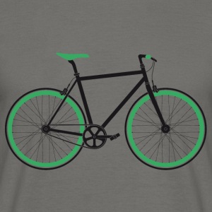 Singlespeed black-green T-Shirts - Men's T-Shirt