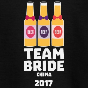 Team Bride China 2017 S45g8 Shirts - Kids' T-Shirt