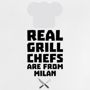Real Grill Chefs are from Milan Sua46 Baby Shirts  - Baby T-Shirt