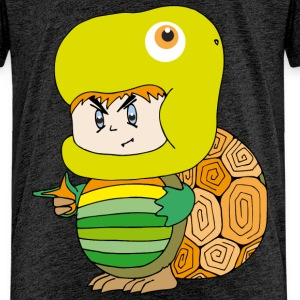 Turtle costume Shirts - Kids' Premium T-Shirt