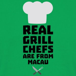 Real Grill Chefs are from Macau 946 T-Shirts - Men's T-Shirt