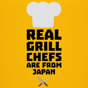 Real Grill Chefs are from Japan Sz295 Shirts - Teenage Premium T-Shirt