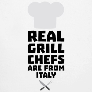 Real Grill Chefs are from Italy Siy8o Baby Bodysuits - Longlseeve Baby Bodysuit