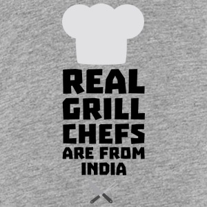Real Grill Chefs are from India Sxu95 Shirts - Teenage Premium T-Shirt