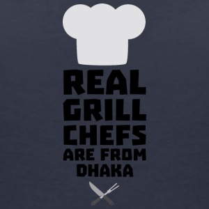 Real Grill Chefs are from Dhaka S1ak8 T-Shirts - Women's V-Neck T-Shirt