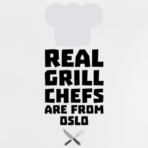 Real Grill Chefs are from Oslo Sfo1n Baby Shirts  - Baby T-Shirt