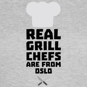 Véritables Chefs Grill proviennent d'Oslo Sfo1n Tee shirts - T-shirt Femme