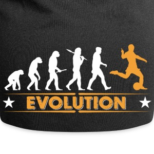 Evolution de football - orange/blanc Casquettes et bonnets - Bonnet en jersey