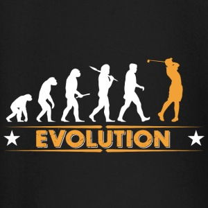 Golf Evolution - orange/weiss Baby Langarmshirts - Baby Langarmshirt