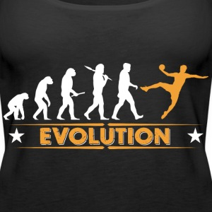 Handball Evolution - orange/weiss Tops - Frauen Premium Tank Top