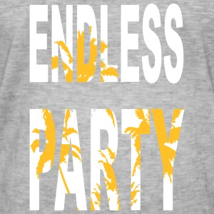 Endless Party Beach - Männer Vintage T-Shirt