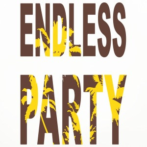 Endless Party Beach - Untersetzer (4er-Set)