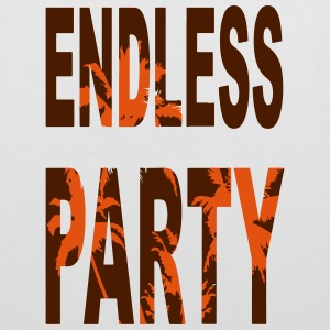 Endless Party Beach - Stoffbeutel