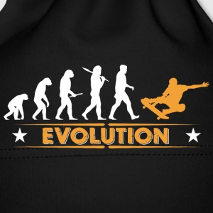 Skateboard Evolution - orange/weiss Babylue - Babys lue