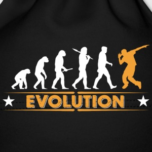 Hip hop break dance evolution - arancio/bianco Berretto neonato - Cappellino neonato