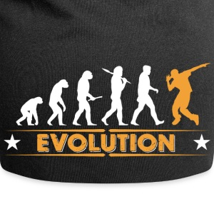 HipHop break dance evolution - orange/white Caps & Hats - Jersey Beanie