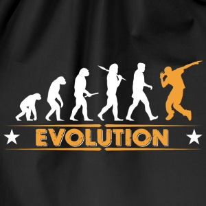 HipHop break dance evolution - naranja/blanco Bolsas y mochilas - Mochila saco