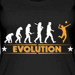 Volleyball Evolution - orange/weiss Top - Top da donna ecologico