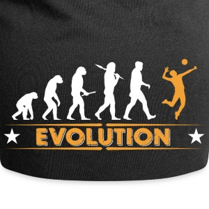 Volleyball Evolution - orange/weiss Gorras y gorros - Gorro holgado de tela de jersey