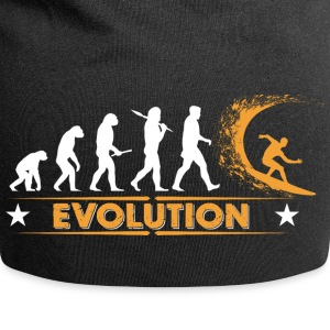 Surfing Evolution - orange/weiss Casquettes et bonnets - Bonnet en jersey