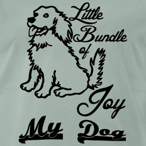 Bundle of Joy - Dog  T-Shirts - Männer Premium T-Shirt