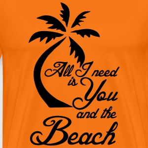 You and the Beach T-Shirts - Men's Premium T-Shirt