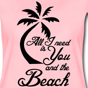 You and the Beach T-Shirts - Women's Premium T-Shirt