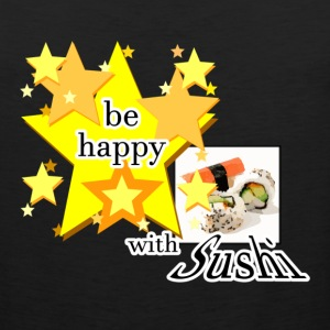 Be happy with Sushi Sportbekleidung - Männer Premium Tank Top