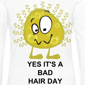 Yes It's A bad Hair Day - Women's Premium Longsleeve Shirt