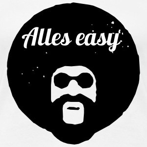 Alles easy T-Shirts - Frauen Premium T-Shirt