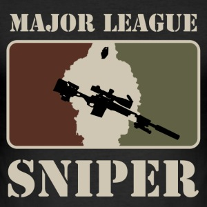 camiseta Major League Sniper - Camiseta ajustada hombre